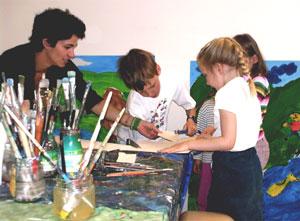 Kinderatelier mit Birgit Weierer